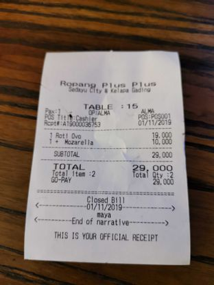 Foto 3 - Menu di Ropang Plus Plus oleh @jakartafoodvlogger Allfreed