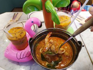 Foto 2 - Makanan(Tomyum souprise seafood) di Santhai oleh Cantika   IGFOODLER