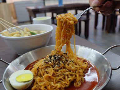 Bunsik Korean Street Food Cibinong Bogor Lengkap Menu