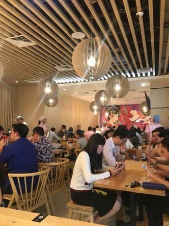 Foto Interior di Kokoro Tokyo Mazesoba
