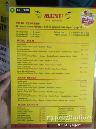 Foto review Ayam Bebek Mafia oleh Kuliner Sama Agam 1