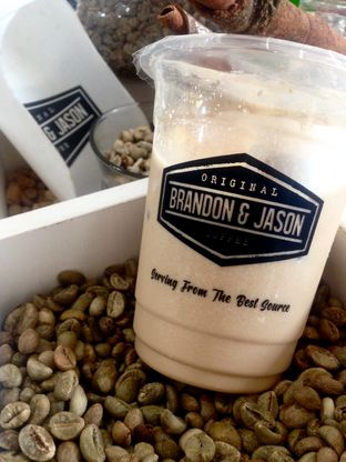 Foto 1 - Makanan(Ice Coffee Branson) di Original Brandon & Jason Coffee oleh Dianty Dwi