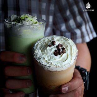 Foto 2 - Makanan( Upnormal Green Tea Frappe & Upnormal Java Chips Frappe from @warunk_upnorma) di Warunk UpNormal oleh Foodinhands Community IG  : @foodinhands