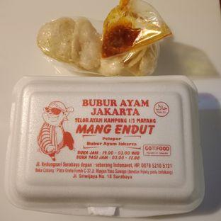 Foto 3 - Makanan di Bubur Ayam Jakarta Mang Endut oleh Fensi Safan