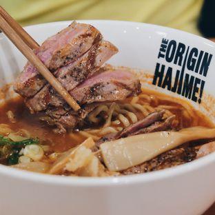 Foto - Makanan(Spicy beef ramen 88k) di Hajime Ramen oleh Febriani Djunaedi