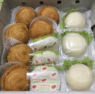 Foto 1 - Makanan di Strawberry Pastel Ufo oleh Mitha Komala