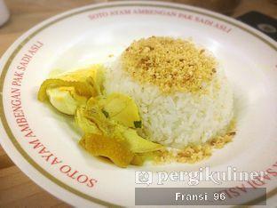 Foto 5 - Makanan di Soto Ayam Ambengan Pak Sadi (ASLI) oleh Fransiscus