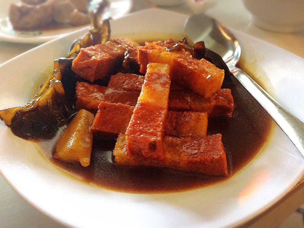 Babi Panggang Lezat Review Fransiscus Di Restoran Vegetus Vegetarian Muara Karang