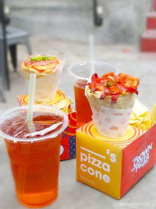 Foto 3 - Makanan di Crown Pizza Cone oleh Kuliner Addict Bandung