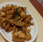 Foto Jamur dan tahu goreng lada garam di Imperial Kitchen & Dimsum