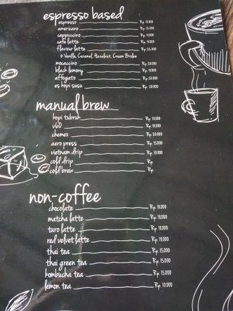 Foto Menu di INJ Coffee Bold