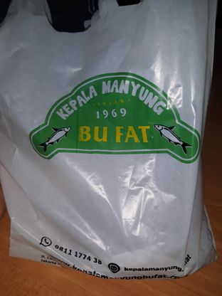 Foto 1 - Makanan di Kepala Manyung Bu Fat oleh Mouthgasm.jkt