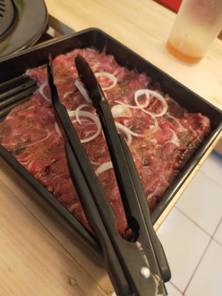 Foto 1 - Makanan(Grill special less fat) di Omoshiroi Shabu & Grill oleh Ananda Rizki