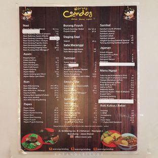 Foto 1 - Menu di Warung Ciendog oleh Eat and Leisure