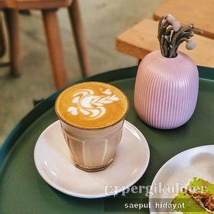 Foto 1 - Makanan(Cafe Latte) di Samakamu Kopi oleh Saepul Hidayat