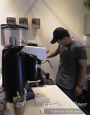 Foto 6 - Interior(Barista peracik kopi) di Chill Bill Coffees & Platters oleh Achmad Humaidy