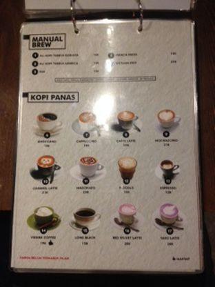 Foto 4 - Menu(menu minuman) di Ali Kopi Roastery oleh Threesiana Dheriyani