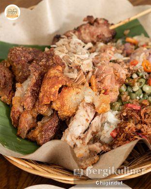 Foto 2 - Makanan(Nasi Bigul Campur) di Depot Jepun Bali oleh Chigindut Youtuber