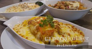 Foto 4 - Makanan(Baked Rice Chicken Pumpkin) di Hong Kong Cafe oleh JC Wen