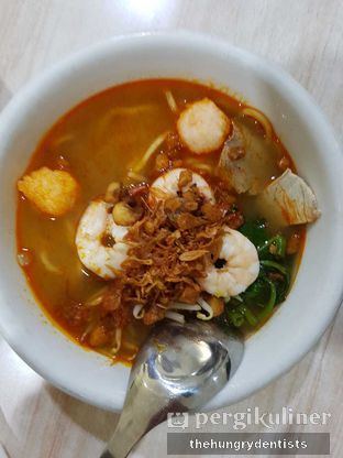 Foto 2 - Makanan(mie udang singapur kuah) di Mie Udang Singapore Mimi oleh Rineth Audry Piter Laper Terus