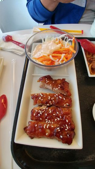 Foto 2 - Makanan(Chicken steak) di HokBen (Hoka Hoka Bento) oleh Cooventia Family