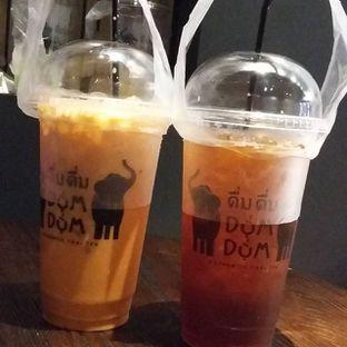 Foto 2 - Makanan(thai tea / black tea ) di Dum Dum Thai Drinks oleh yukjalanjajan