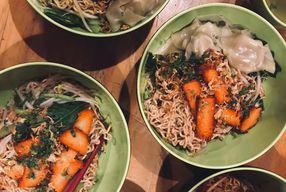 Foto Vegetarian Bakmie Garing H-P (Hot Pedas)