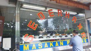 Foto review Restoran Sederhana SA oleh Kezia Kevina 9