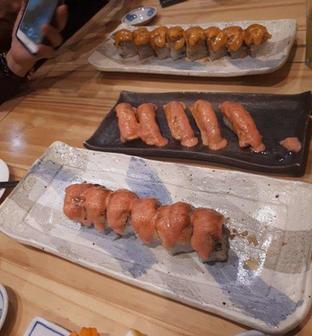 Foto - Makanan di Nama Sushi by Sushi Masa oleh @semangkukbakso
