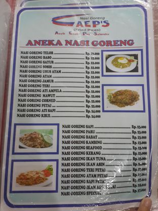 Foto 2 - Menu di Nasi Goreng AEP'S oleh NOTIFOODCATION Notice, Food, & Location