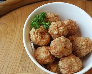 Foto 7 - Makanan(Fried chicken metball) di Native Coffee Tribe oleh Claudia @claudisfoodjournal