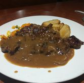 Foto Sirloin Steak Mushroom di Joni Steak