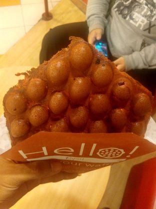 Foto 2 - Makanan(Red Velvet Waffle) di Eggo Waffle oleh Renodaneswara @caesarinodswr