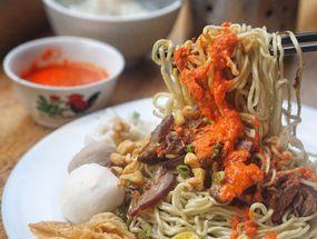 Foto Mie Onlok Palembang