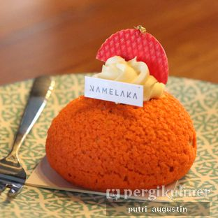 Foto 6 - Makanan(Thai Tea Cake) di Grob Kaffee oleh Putri Augustin