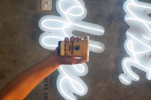 Foto 1 - Makanan di Moonbucks Coffee oleh Mariane  Felicia