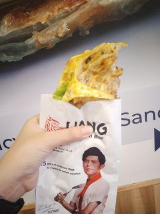 Foto 2 - Makanan(Nyonya Spicy Chicken Sandwich) di Liang Sandwich Bar oleh Kezia Kevina