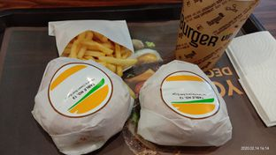 Foto 1 - Makanan di BurgerUP oleh Cindy Anfa'u