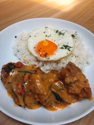 Foto 2 - Makanan(Salted Chicken Egg) di The Neighbors Cafe oleh Fransisca Lucy Susanti