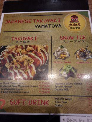 Foto 1 - Menu di Japanese Takoyaki Yamatoya oleh @duorakuss