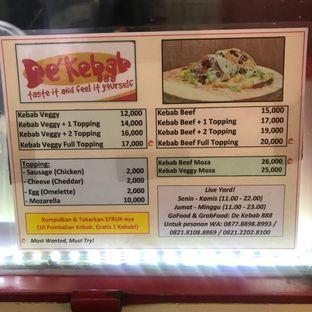 Foto review De' Kebab oleh Levina JV (IG : levina_eat ) 4