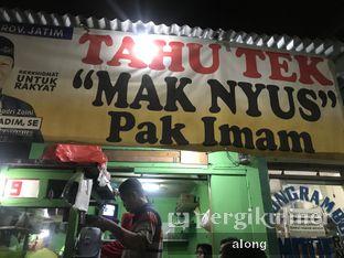 Foto review Tahu Tek Mak Nyus Pak Imam oleh #alongnyampah  3