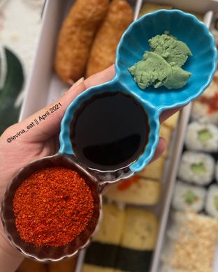 Foto 2 - Makanan di Genki Sushi oleh Levina JV (IG : @levina_eat & @levinajv)