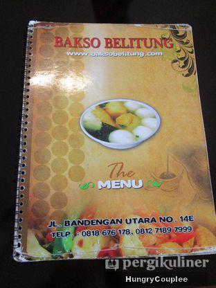 Foto 6 - Menu di Bakso Belitung oleh Hungry Couplee