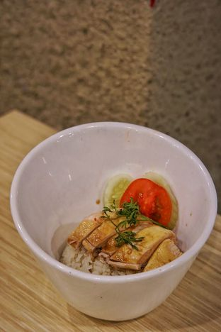 Foto 2 - Makanan(Singapore Hainanese Chicken Ricebowl) di Rice Bowl Mini oleh Fadhlur Rohman