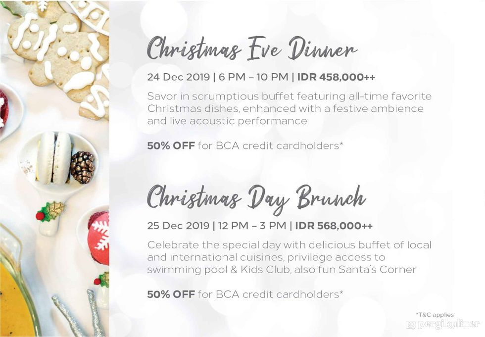 Christmas Buffet Promo Dan Diskon Di Open Restaurant Double Tree By Hilton Hotel Jakarta Cikini
