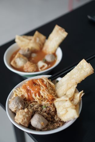 Foto 2 - Makanan di Bakso Mas Untung oleh @Sibungbung