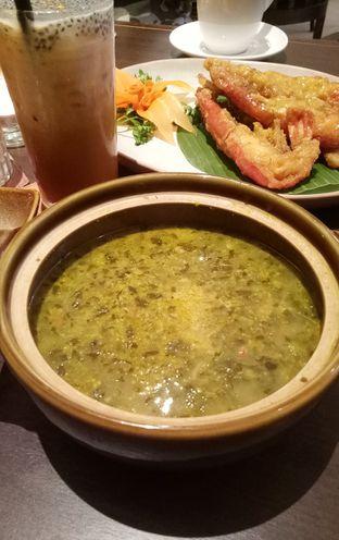 Foto 6 - Makanan(sup daun singkong tumbuk) di Seribu Rasa oleh maysfood journal.blogspot.com Maygreen