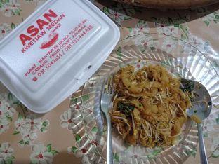 Foto - Makanan(Kwetiau Goreng Telur) di Asan Kwetiaw Medan oleh Florentine Lin