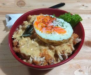 Foto 2 - Makanan(Chickpureku Salted Egg (IDR 37k) ) di Gepureku oleh Renodaneswara @caesarinodswr